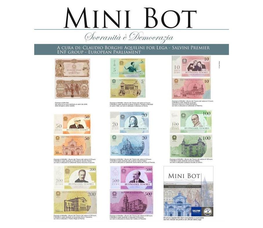 Бомба для евро: зачем Италия введет параллельную валюту mini-bot,евро,Италия,Кризис