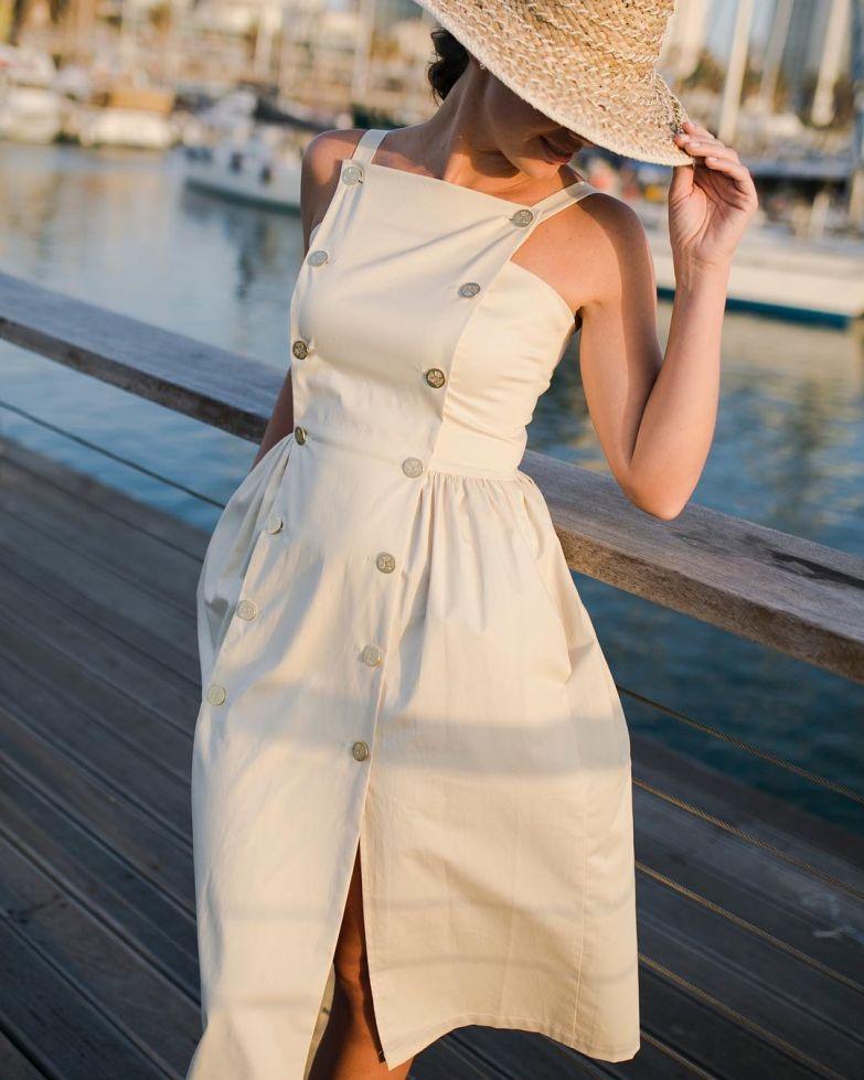 Летние платья для женщин после 40 - 9 стильных образов женские хобби,платье,рукоделие,своими руками