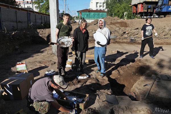 В центре Перми найден уникальный клад.