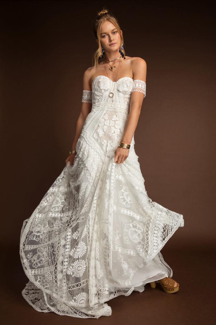 Самые красивые платья в стиле бохо - модный обзор, выбор стилистов лучшее,мода,модные советы,Наряды