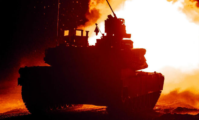 Почему новый танк Абрамс почти нельзя победить Америка,Видео,война,Пространство,танк