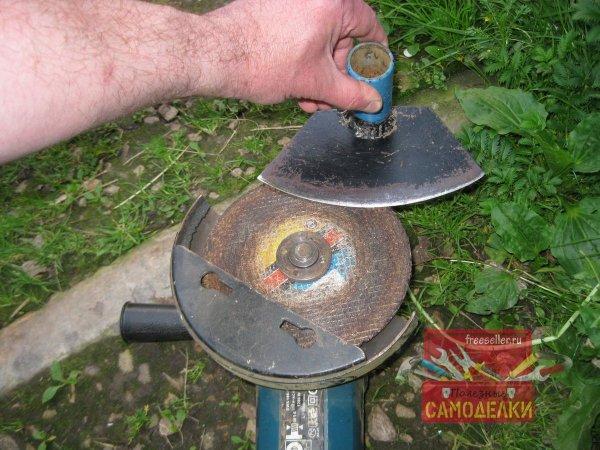 Заточка садового инструмента болгаркой. Нюансы и особенности самоделкин,сделай сам,советы