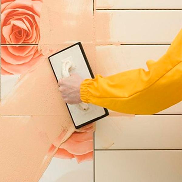 Какая затирка швов плитки не поменяет свой цвет при намокании самоделкин,сделай сам,советы