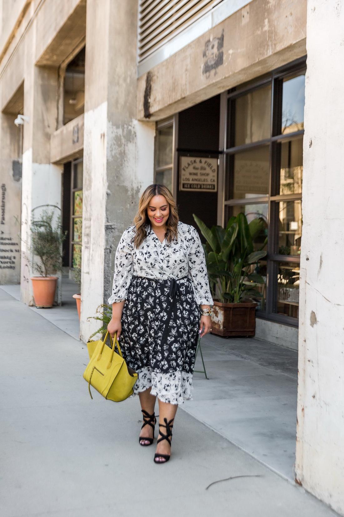Модная одежда для полных - что носить и не стесняться лучшее,мода,мода для полных,модные советы,Наряды