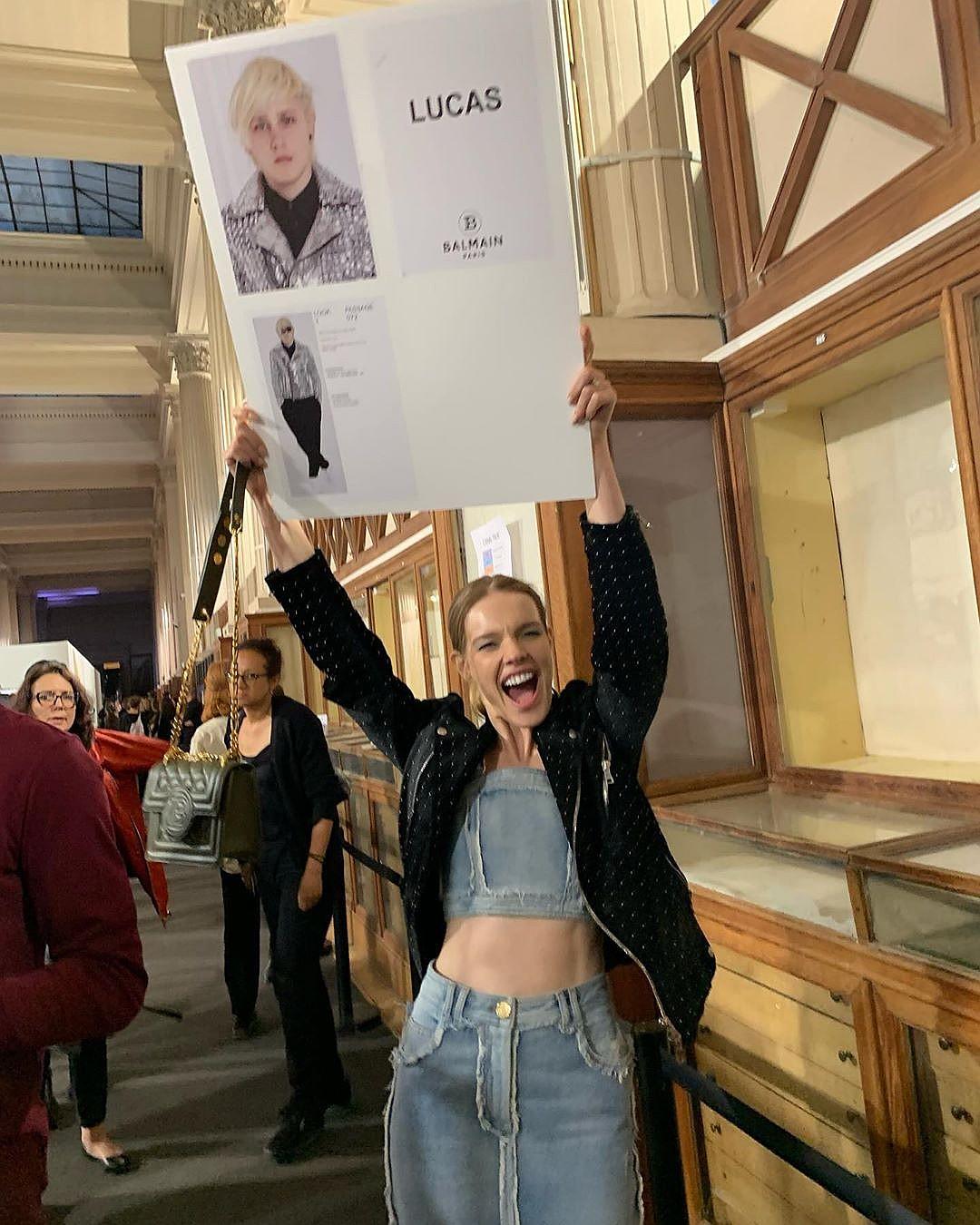 17-летний сын Натальи Водяновой дебютировал на Парижской Неделе моды красота,модельный бизнес,Наталья Водянова,новости,развлечение,шоубиz,шоубиз