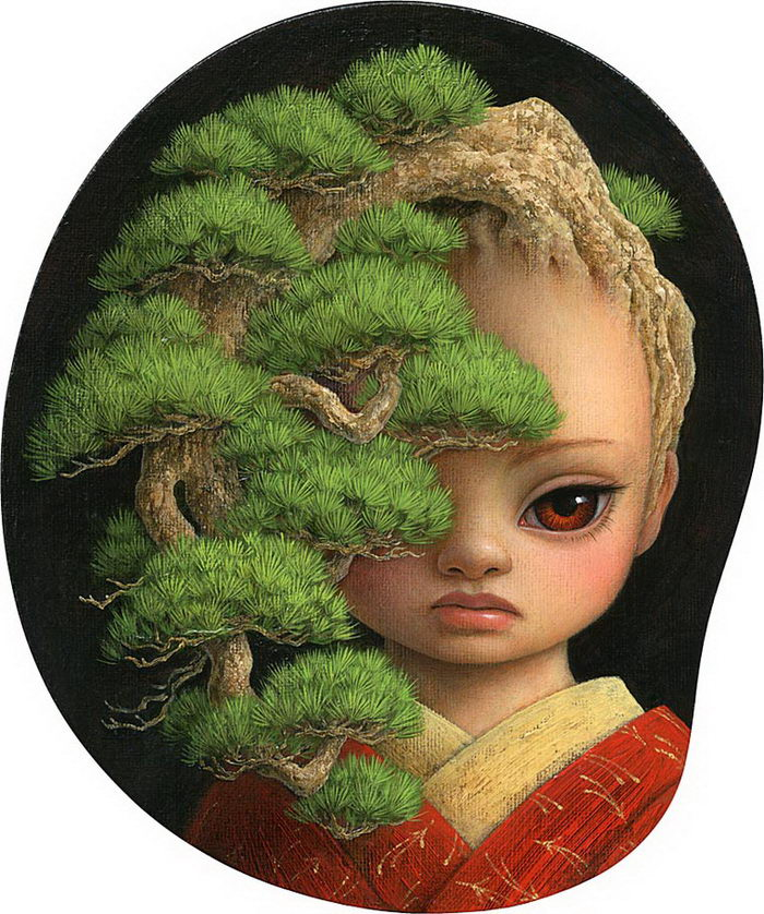 Японский художник сочетает несочетаемые стили