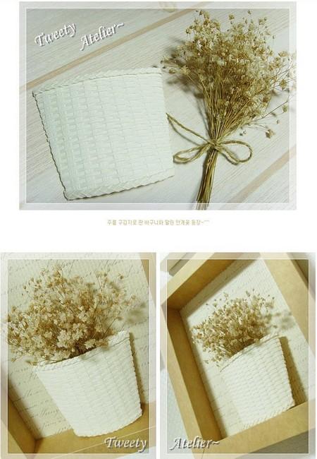 Корзина с цветами в рамочке корзинка в рамке,своими руками,сделай сам