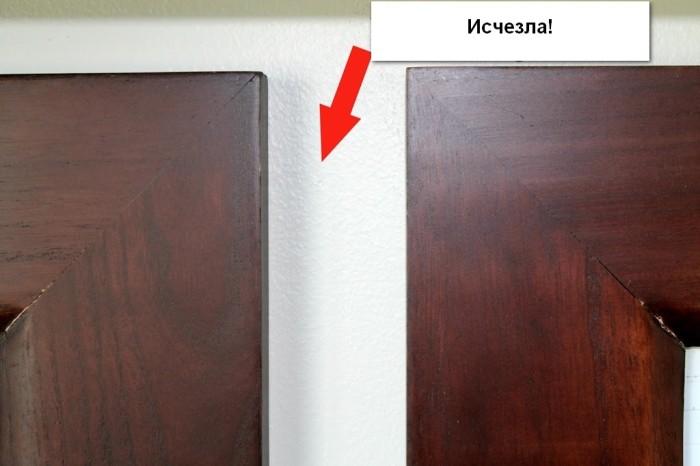 3 простых и эффективных способа, как скрыть отверстия от саморезов в стене домашний очаг,,интерьер,полезные советы,рукоделие,своими руками