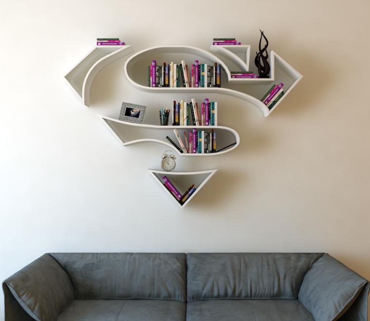 Креативные книжные шкафы, которые добавят изюминку в скучный интерьер интерьер и дизайн,книги,книжный шкаф,креатив,мебель