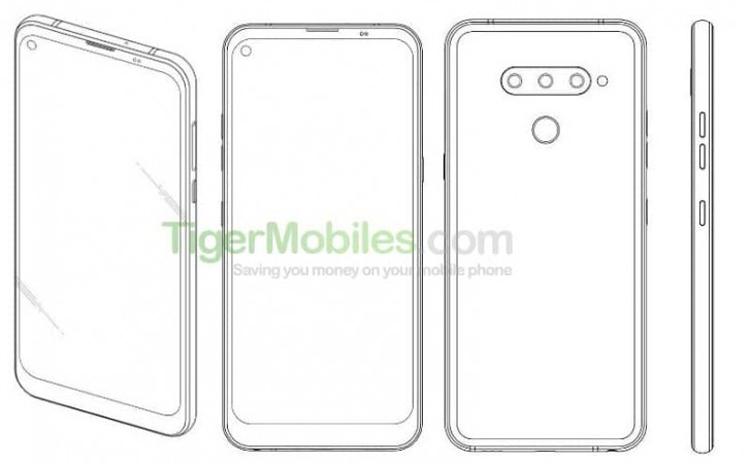 LG проектирует смартфон с «дырявым» дисплеем новости,смартфон,статья